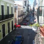 Vista desde el balcón, segundo piso