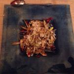 Insalata di cuori di carciofi con Grana e melograno