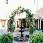 The DoubleTree courtyard is a hidden gem in the heart of Charleston's Historic District
