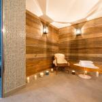 Chalets du Jardin Alpin, spa avec sauna et hammam.