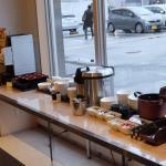和食コーナー味噌汁サーバーとカレーがありました