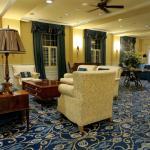 Lobby of Boone Tavern with handmade furnishings