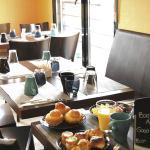 Park&Suites Elegance Lyon Vaise Salle petit-déjeuner
