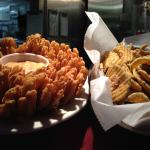 Blooming Onion and Fried Pickles