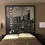 Picture above bed