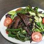 Black Beans Salad Beef Fajita