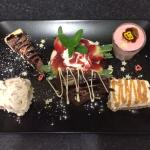 Assiette Of Desserts