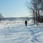 Snowshoeing at Wallkill River National Wildlife Refuge. Hiking and birding would also be good!