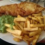 Fish, Chips & mushy peas..