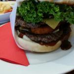 Mr Scratch Double burger