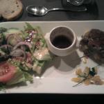 tartare de canard et ses légumes croquants. DIVIN !!!!!