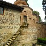 Boyana Church - you can see the different walls added later on
