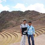 Pisac ruins - With Fernando