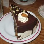 Torta de chocolate con naranja confitado