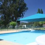 In ground swimming pool and toddler pool