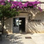 Entrance to the Kastelet Restaurant