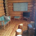 Lounge room in our cottage
