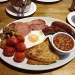 Fully minty breakfast. Brilliant