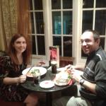 Valentine's meal February 2015