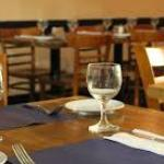 Restaurants tables.