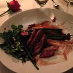 The duck was incredible!