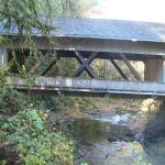 Covered bridge near Grist Mill
