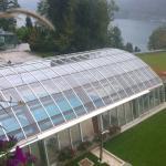 La piscina vista dalla nostra camera