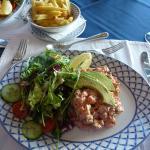 Crayfish and Avocado salad, my favourite!