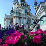 Андреевская церковь, Андреевский спуск