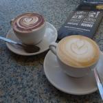 Coffee Art at The Yard