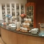 A small section of the breakfast offerings.