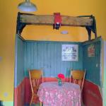 Elevator Box Car Table