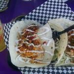 Margarita and Mahi Mahi Tacos
