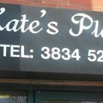 Kates Place cafe sign Craigavon