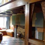 Main Hall, inglenook fireplace with keyed lintel