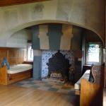 Dining Room, inglenook fireplace with keyed lintel