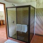 Shower in Las Carpas luxury camping tents