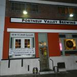 Entrance to Portneuf Valley Brewing