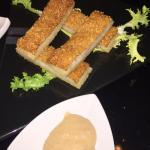 Sesame prawns