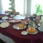 Parte de productos para desayunar