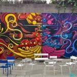 Dias de Las Muertos Mural @ OMCA