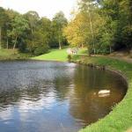 Lake possibly feeding water to a rurbine