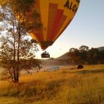 balloon in the area of Hunter Valley
