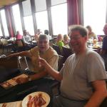 My brother enjoyed the bacon.  So did my Uncle who is a local Storm Lake icon/citizen/great guy.