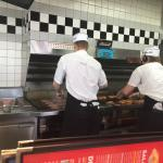 A fast food joint that's actually cooking my burger with real beef