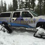 Snowcat - great mode of transportation