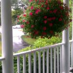 View from the driveway side of the front porch