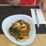 stirfry with prawns