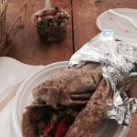 Kebab con piadina integrale
