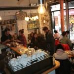 Latife Cafe roasts fresh Turkish and Latin coffee everyday